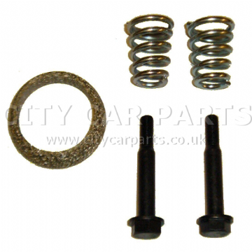 Citroen C4 1.6l Hatchback 2004 To 2009 Exhaust Fittings Kit Gasket Bolts Springs
